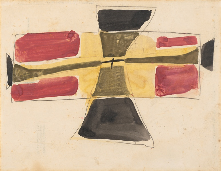Untitled (Unflyable Kite series, New York), 1953