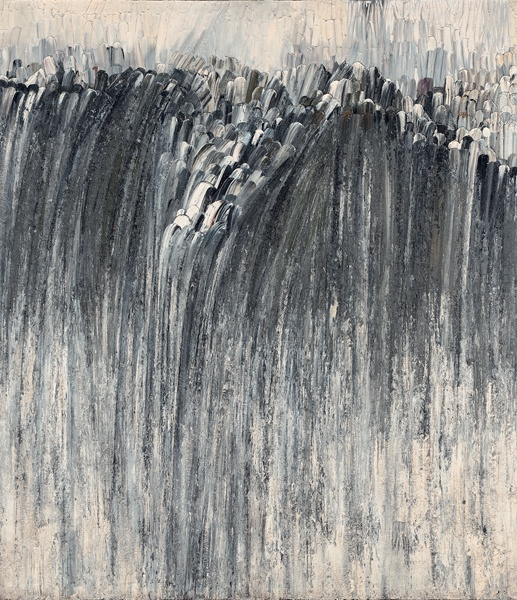 Jay DeFeo, Origin, 1956