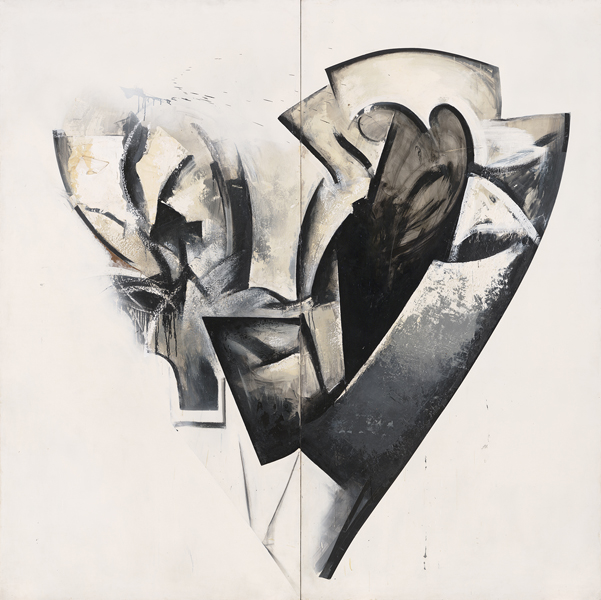 Jay DeFeo, Cygnus (Loop System No. 3), 1975