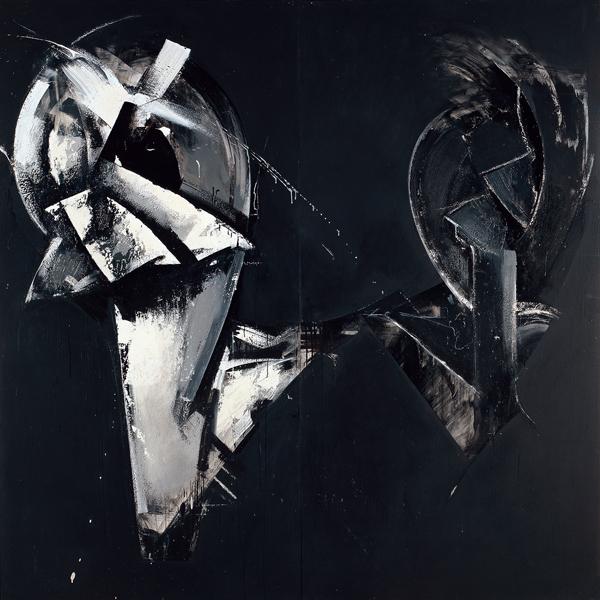 Masquerade in Black (Loop System No. 4), 1975