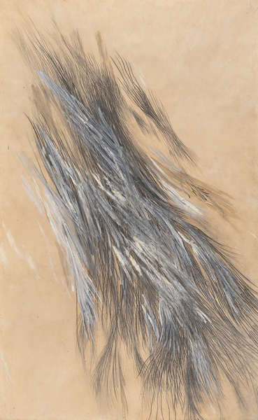 Jay DeFeo, Untitled, c. 1957