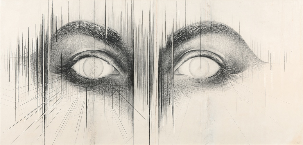 Jay DeFeo, The Eyes, 1958