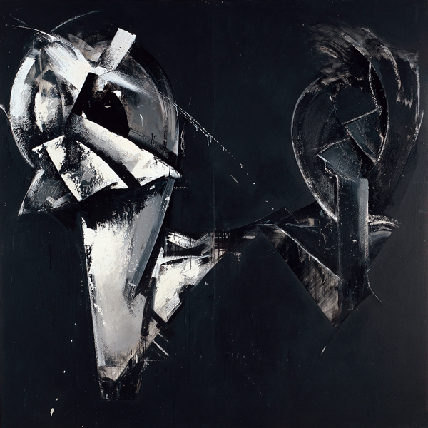 Masquerade in Black (Loop System No. 4), 1975