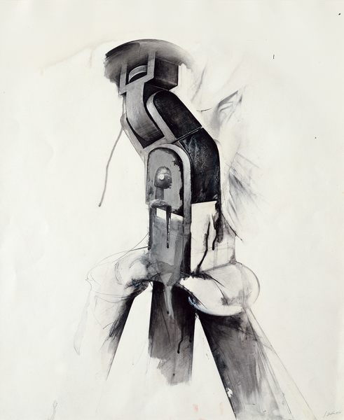 Figure II (Tripod series), 1976