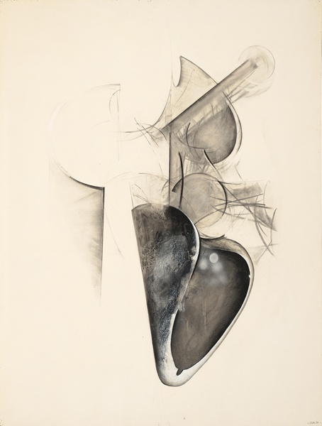 Jay DeFeo, Untitled (Shoetree series), 1977