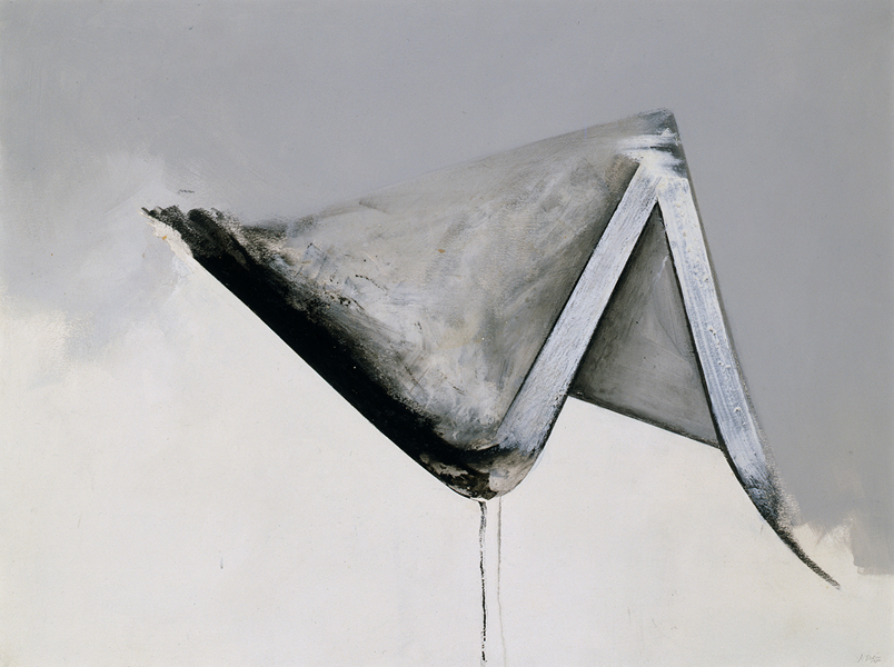 Jay DeFeo, Untitled (Eternal Triangle series), 1980