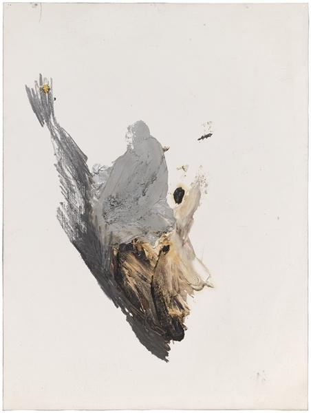 Jay DeFeo, Untitled (Study from Bernini's Work), 1985