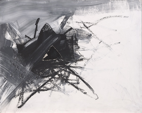 Jay DeFeo, Impressions of Africa No. 3, 1986