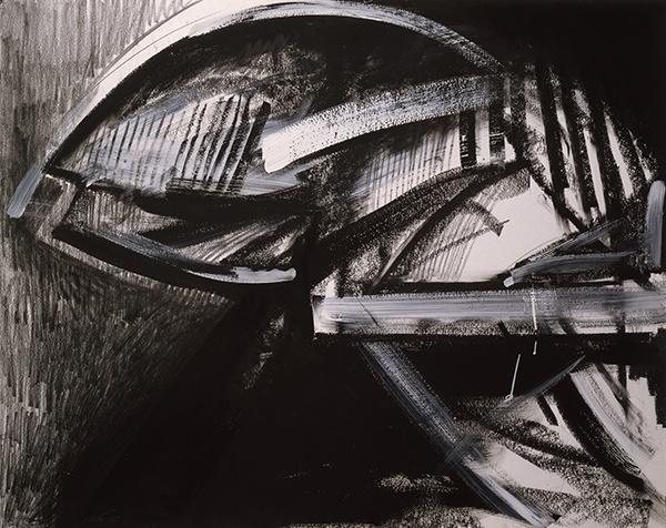 Jay DeFeo, Samurai No. 7, 1987