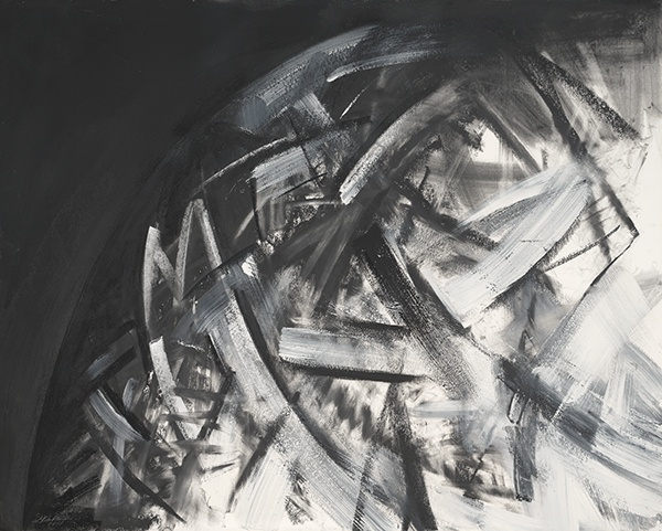 Jay DeFeo, Samurai No. 11, 1987