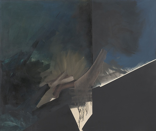 Jay DeFeo, Blue Nile, 1986