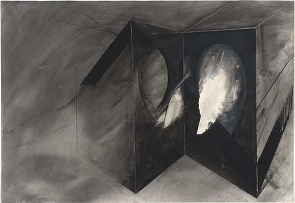 Jay DeFeo, Reflections of Africa No. 1, 1987