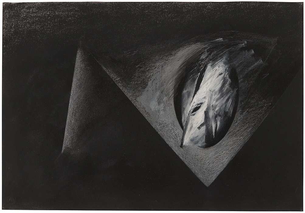 Jay DeFeo, Reflections of Africa No. 3, 1987