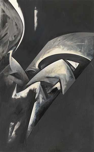 Jay DeFeo, Hawk Moon No. 2, 1983-85