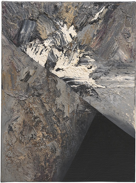 Jay DeFeo, Black Canyon, 1988