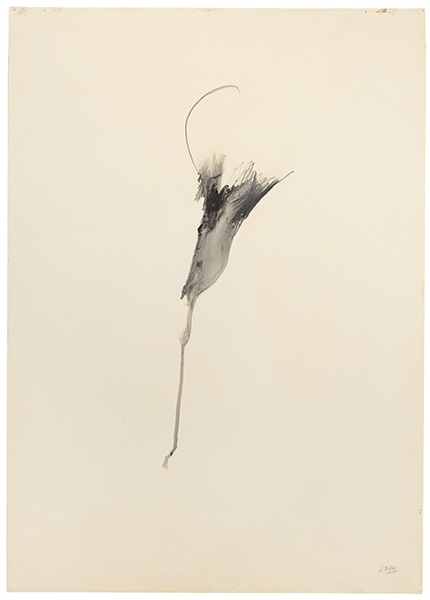 Jay DeFeo, Instantaneous Teardrop (Tripod series), 1975