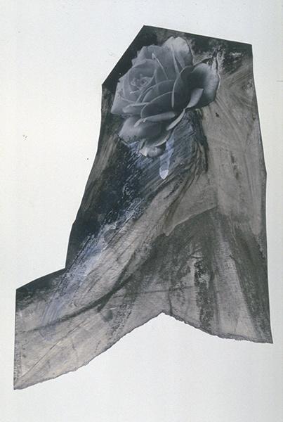 Jay DeFeo, Untitled (The Rose Tripod), 1975