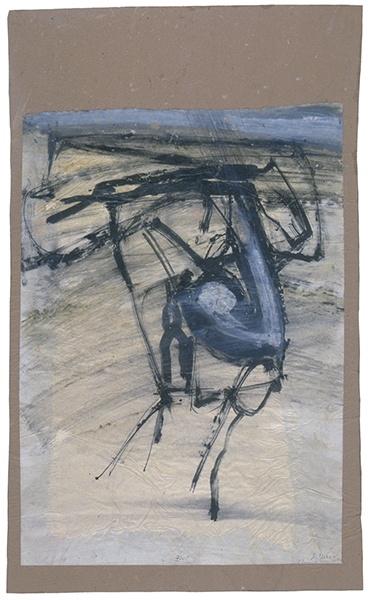 Jay DeFeo, Untitled (Florence), 1952