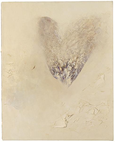 Jay DeFeo, Last Valentine, 1989