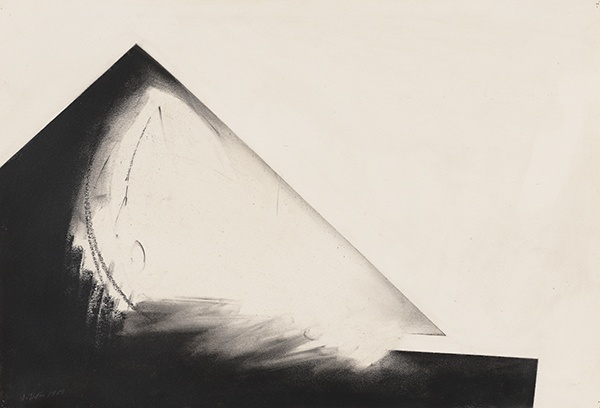 Jay DeFeo, Reflections of Africa No. 8, 1989