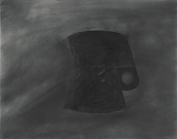 Jay DeFeo, Pink Cup by Night (for R.N.), 1989