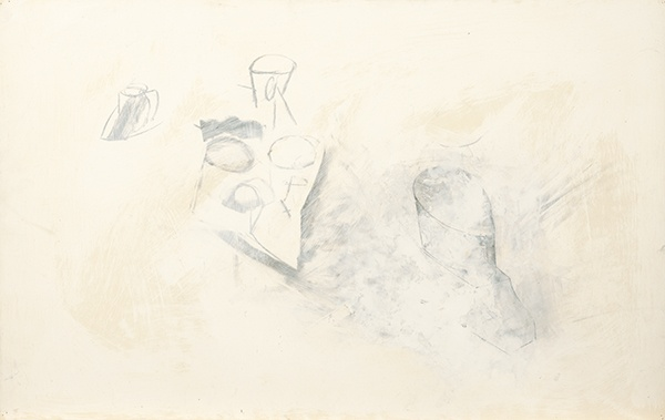 Jay DeFeo, Sinking of the Pink Cup (for R.N.), 1989
