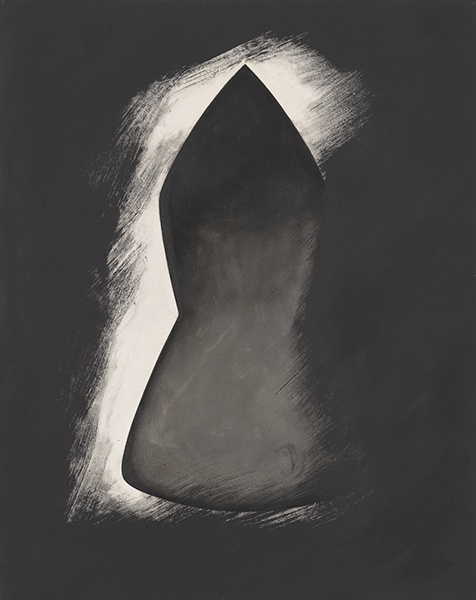 Jay DeFeo, Seven Pillars of Wisdom No. 6, 1989