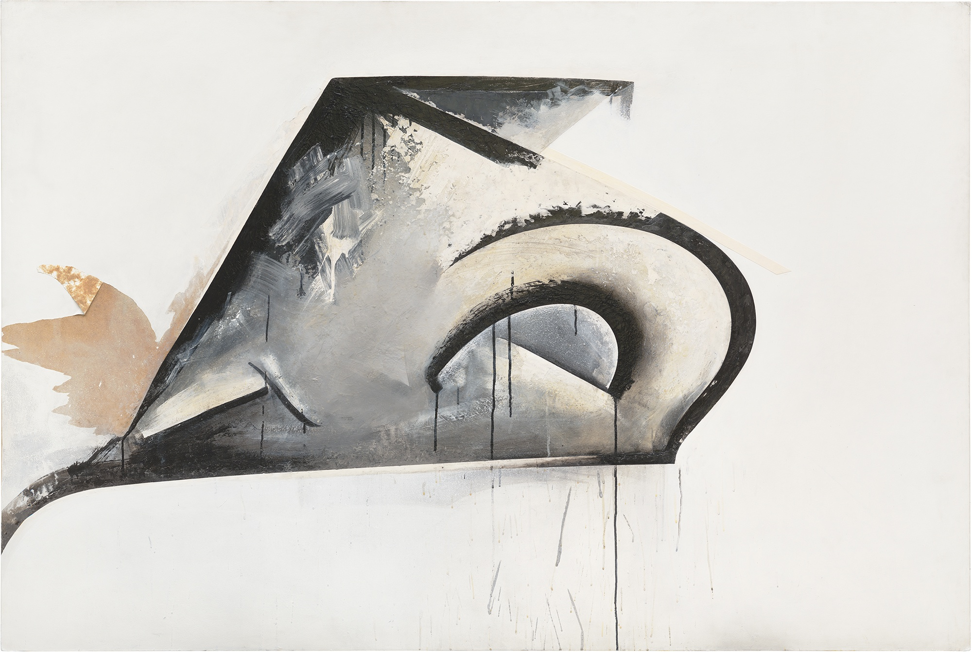 Jay DeFeo, Pend O'Reille No. 1 (Eternal Triangle series), 1980