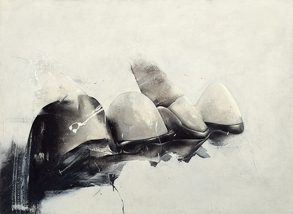 Jay DeFeo, Crescent Bridge I, 1970-72