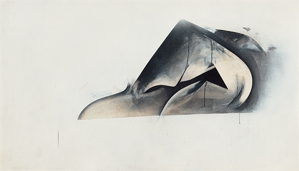 Jay DeFeo, Pend O'Reille No. 2 (Eternal Triangle series), 1980