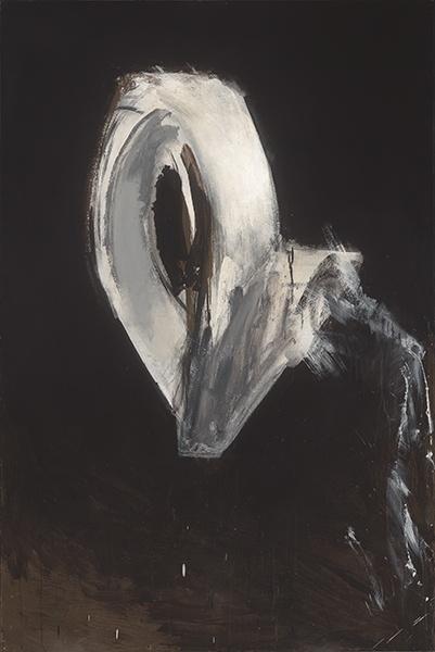 Jay DeFeo, Where the Swan Flies (Loop System No. 1), 1974