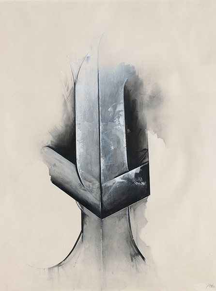 Jay DeFeo, White Knight, 1977