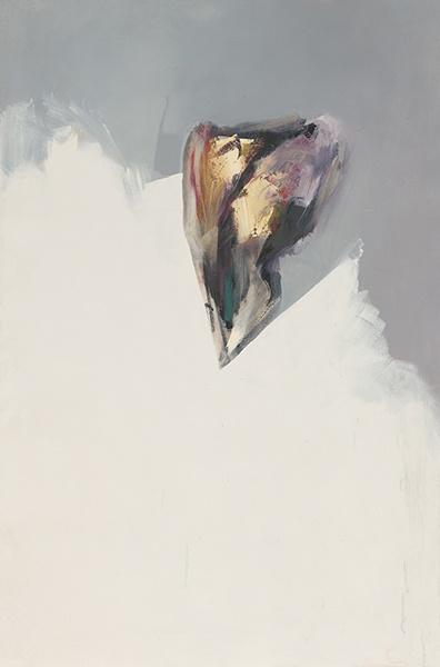 Jay DeFeo, Untitled (Eternal Triangle series), 1980