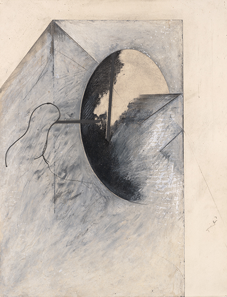 Jay DeFeo, Untitled (Reflections of Africa series), 1987