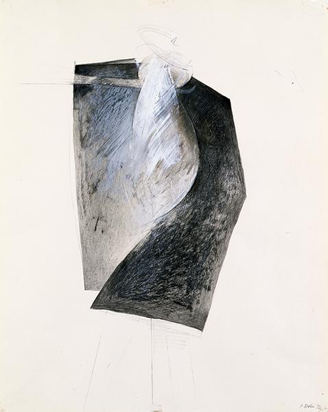 Jay DeFeo, Figure VI (Tripod series), 1976