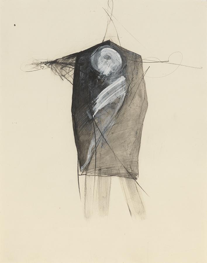 Jay DeFeo, Untitled (Tripod series), 1976