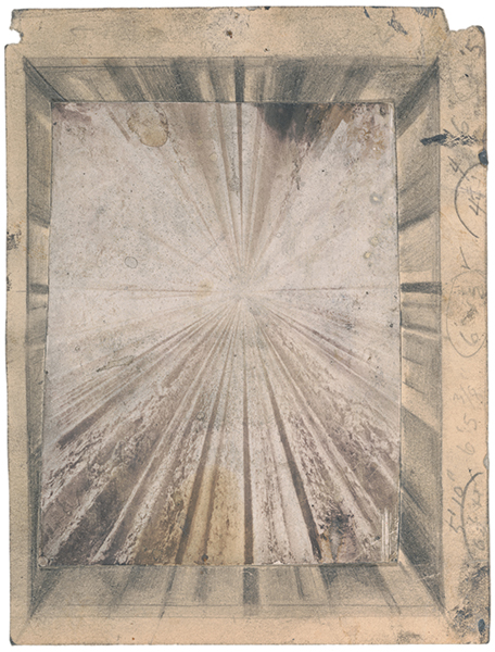 Jay DeFeo, Study for The Rose, 1959