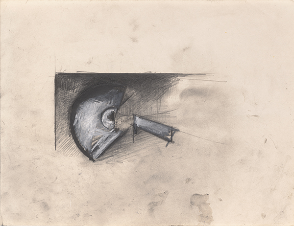 Jay DeFeo, Untitled (One O'clock Jump series), c. 1978