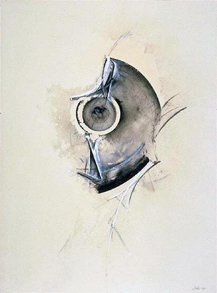 Jay DeFeo, Eyeless in Gaza (One O'clock Jump series), 1978