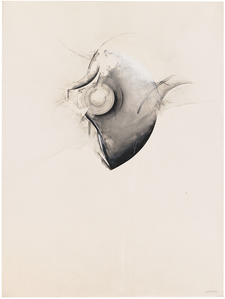 Jay DeFeo, Veil (One O'clock Jump series), 1978