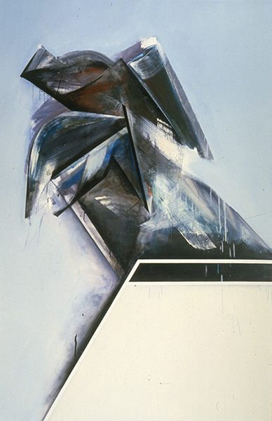 Jay DeFeo, Summer Image No. 2 (for my mother), 1983-85
