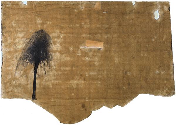 Jay DeFeo, Untitled (Tree series), 1953