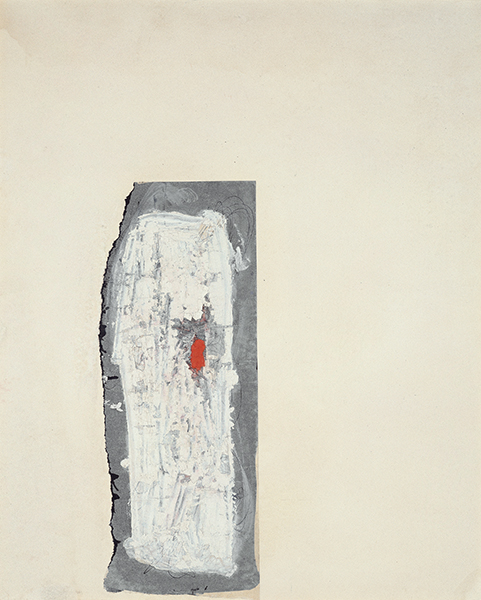 Jay DeFeo, Untitled (Florence), 1952