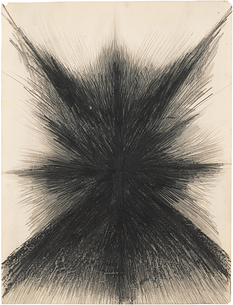 Jay DeFeo, Untitled, 1958