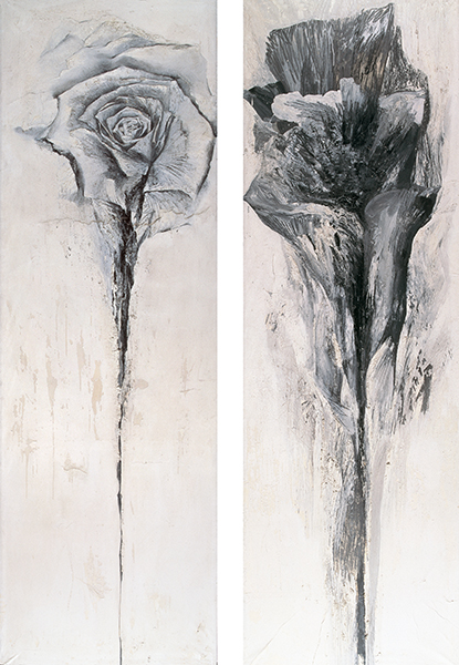 Jay DeFeo, The Wise and Foolish Virgins, 1958