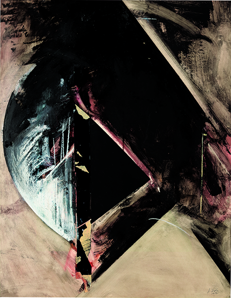 Jay DeFeo, Untitled (Rear Window series), 1982