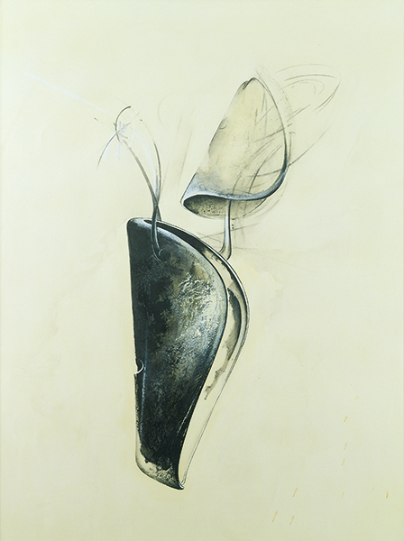Jay DeFeo, Untitled (Shoetree series), 1977