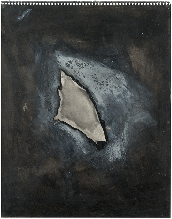 Jay DeFeo, Untitled (One O'clock Jump series), 1978
