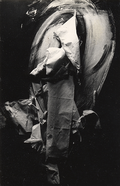 Jay DeFeo, Untitled (Masking Model for later Loop System paintings), 1974
