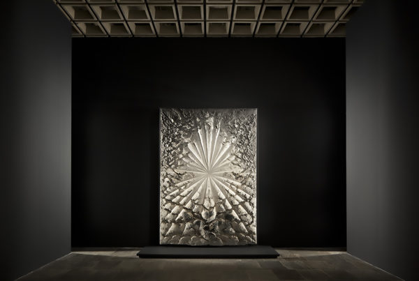 Installation view of Jay DeFeo: A Retrospective at the Whitney Museum of American Art, New York, 2013